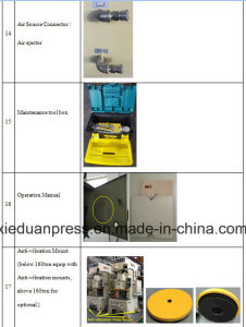 Auto Brake Lining Stamping 160ton Semi Closed Punching Machine pictures & photos