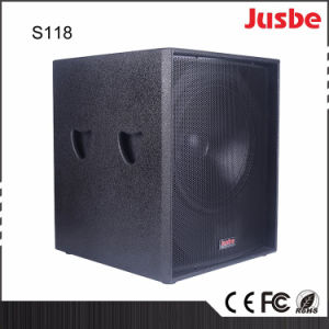 """S118 18"""" Speakers Subwoofer for Theatre Live Concert Church pictures & photos"""