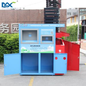 China Factories to Metal Large Recycle Clothes Container Distributor Waste Bin pictures & photos