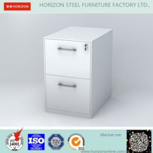 Steel Filing Cabinet Office Furniture with Full Width Recess Handle for F4 Foolscap Size Hanging File Storage/Metal Furniture pictures & photos