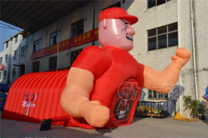 Inflatable Miller Tunnel for Promotion pictures & photos