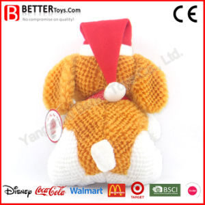Christmas Day Soft Stuffed Plush Toy Dog pictures & photos