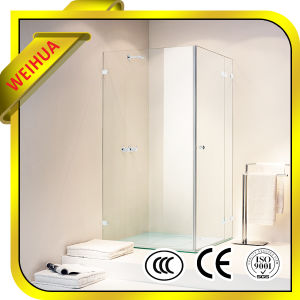 Decorative 8mm/10mm Tempered Glass for Shower Room pictures & photos