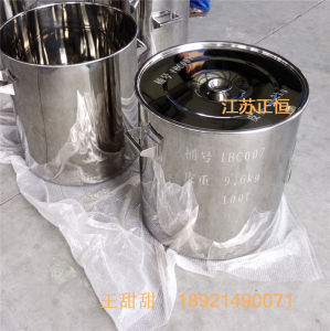 SUS 304 SUS 316L Stainless Steel Drum or Stainless Steel Container 100L pictures & photos