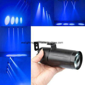 Professional Disco Light 3W DMX 512 LED Pinspot Light Fast Shipping pictures & photos