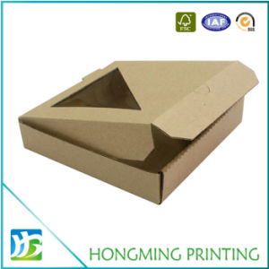 Cheap Foldable Design Carton Pizza Box pictures & photos