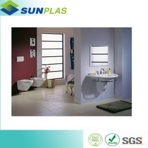 High Glossy Waterproof Sheet for Bathroom Wall Panel HIPS Sheet pictures & photos