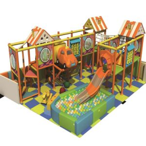 Factory Wholesale Plastic Playhouse Plastic Soft Indoor Playground pictures & photos