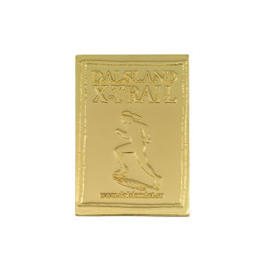 Custom Stamping Sport Promotion Gift Gold Coin pictures & photos