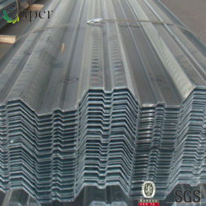 Galvanized Steel Floor Support Decking Sheets for High Rise Buildings pictures & photos