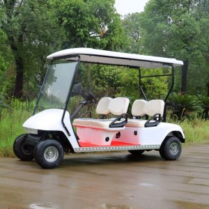 4 Passenger Electric Golf Cart for Hotel and Golf Course pictures & photos