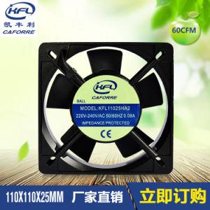 11025 Quiet Voice AC Cooling Fan Blower Fan