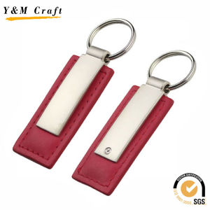 Hot Sale PU Leather Key Ring (Y02043) pictures & photos