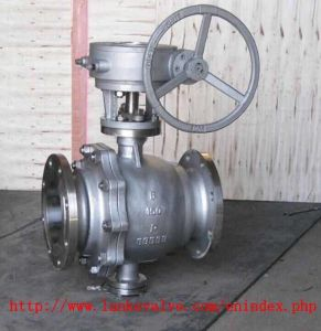 ANSI Stainless Steel Ball Valve with Gear pictures & photos