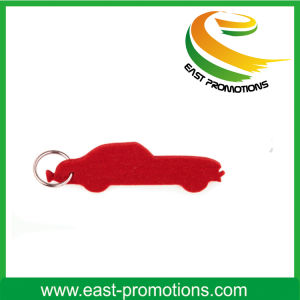 3mm Thickness Printed Polyester Felt Keychain pictures & photos