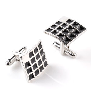 Metal Color Enamle Cuff Link Customerized Cufflinks for Men′s Wedding Gift pictures & photos