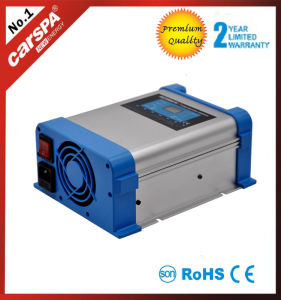12/24V 60A Automatic 7 Stage Battery Charger with Digital Display with Temp. Compensation pictures & photos