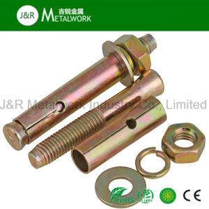 Carbon Steel Galvanized Zinc Plated Expansion Anchor Bolt (Grade 8.8/10.9/12.9) pictures & photos