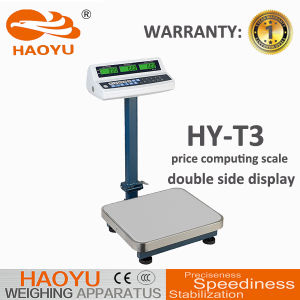 Electronic Two Sides Display Weighing Platform Scale pictures & photos