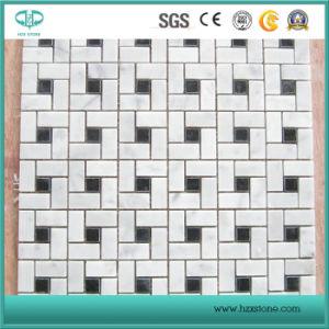 White Mosaic, Black Mosaic, Marble Mosaic, Stone Mosaic pictures & photos