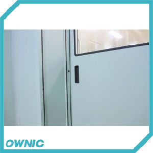 New Automatic Hermetic Sliding Door with Large Plane View Glass pictures & photos