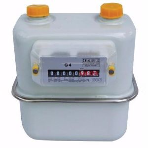 Steel Case Disphragm Gas Meter pictures & photos