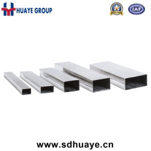 Huaye Rectangular Square Stainless Steel Welding Decoration Pipes and Tubes pictures & photos