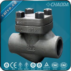 Small Size Forged Steel Check Valve pictures & photos