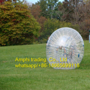 Funny Human Hamster Glass Roller Zorb Ball for Ramp Zorbing pictures & photos