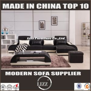 Newest Italy Design Leather Sofa with LED Light (LZ-003) pictures & photos