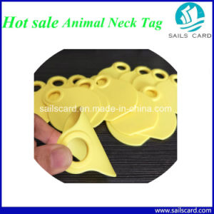 New Product 80X65mm Animal Neck Tag for Farm Management pictures & photos