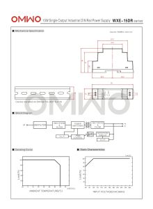 Omwo Wxe-15dr-24 DIN Rail 15W LED Transformer pictures & photos