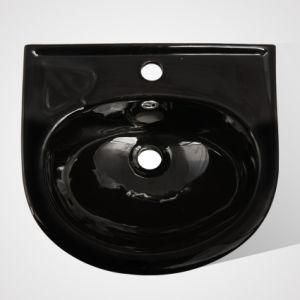 Manufacturing Porcelain Dinner Room Wash Pedestal Basin for Restaurant pictures & photos