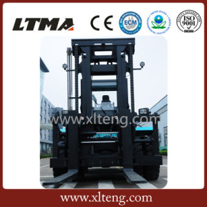 12- 35 Ton Large Power Diesel Hydraulic Forklift for Sale pictures & photos