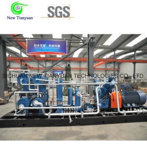 350nm3/H Gas Supply 4 Stages High Pressure CNG Gas Compressor pictures & photos