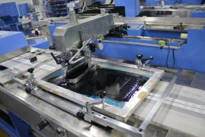 Cotton Label Automatic Screen Printing Machine for Sale (SPE-3000S-5C) pictures & photos