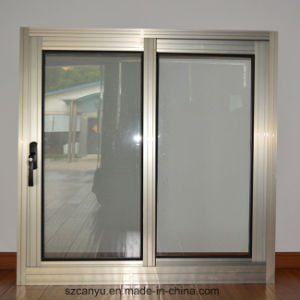 Sliding Aluminium Window Seals Double Casement Windows for Home pictures & photos
