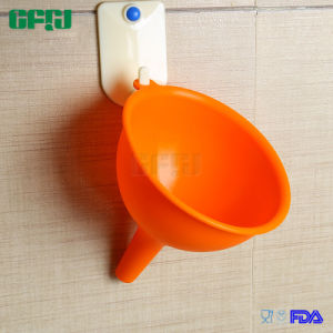 Eco-Friendly Approval Food Grade Silicone Funnel for Liquid Transfer pictures & photos