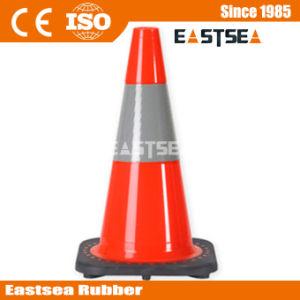 Orange Black Base Plastic Parking 18inch Traffic Cone pictures & photos