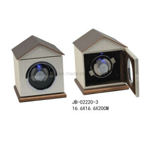 Rotating Watch Case Single Watch Diplay Leather Watch Winder pictures & photos