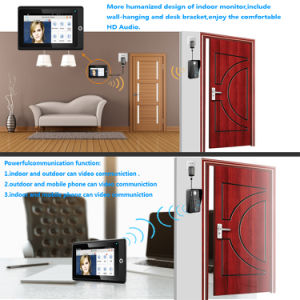 Neweat WiFi Video Door Phone for Wireless Indoor Monitor and Phones pictures & photos