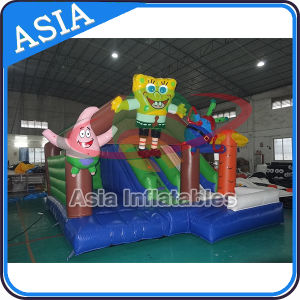 Inflatable Jumping Bouncy House Inflatable Squarepants Slide pictures & photos