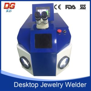 2017 New Equipment 100W Desktop Jewelry Spot Welding Machine pictures & photos