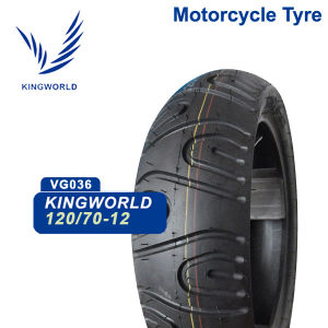 Tubeless Motorcycle Tire 90/90-12 130/70-12 pictures & photos