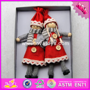 2017 New Products Baby Cartoon Characters Wooden Collectible Dolls W02A229 pictures & photos