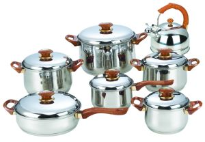 14PCS Jumbo Stainless Steel Cookware Set pictures & photos