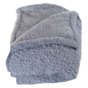 BSCI Audited Factory 2 Side Brushed Sherpa Fleece Blanket with 2 Layer pictures & photos