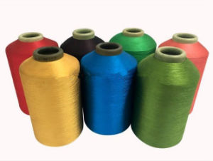 DTY and FDY Different Color 100 Polyester Weft Yarn