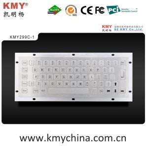 Industrial Stainless Steel Metal Keyboard (KMY299C-1) pictures & photos