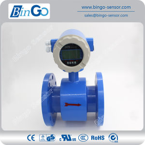 RS485, RS232, Hart Communication Water Electromagnetic Flow Meter with Display pictures & photos